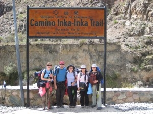 maddy-adam-megan-lisa-and-jackie-our-group-at-start-of-inca-trail