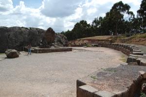 Q'enqo monolith and amphitheatre