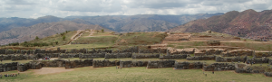 Three staggered Zig Zag walls of Saqsaywaman