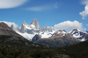 Cerro Fitz Roy from a distance