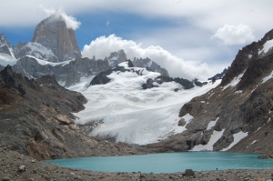 Lago de los Tres and Fitz Roy (from as high as you can get unless you are climbing it)