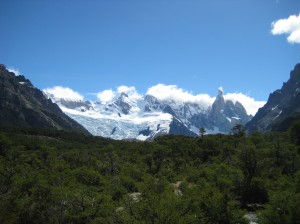 Glaciar Torre and Cerro Torre