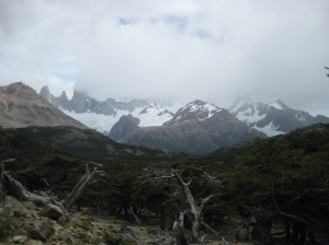 Mirador on the way to Fitz Roy