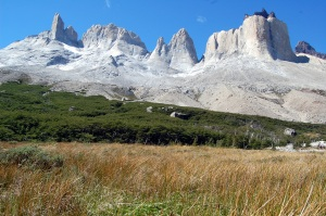 Torres del Paine and Los Cuernos