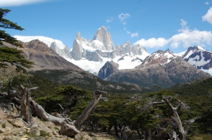 View from mirador on the way to Fitz Roy (on a sunny day)