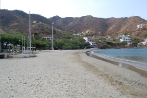 Taganga beach in the morning