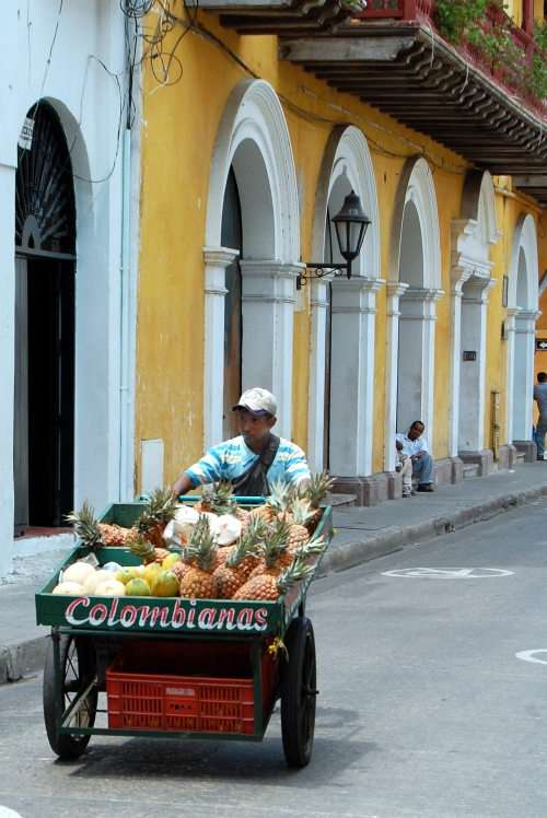 Cartagena Fruit Vendor
