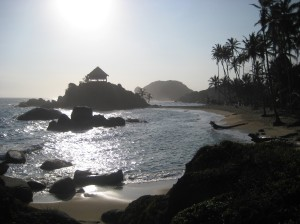 Cabo beach in the morning