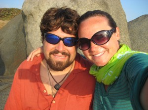 Us at Cabo beach