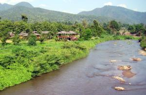 Huts on the Pai River
