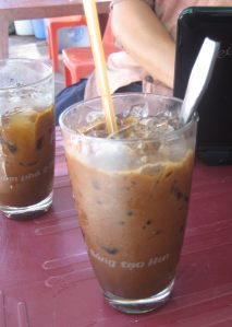Sweet Delicious Iced Coffee