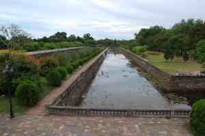 Moat and inner wall of Citadel