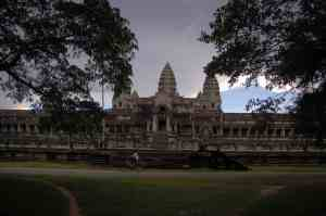 Angkor Wat from the side