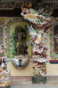 Detail of Linh Phuoc Pagoda