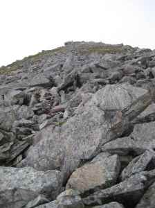 Examples of rocks we climbed to get to the top (3)